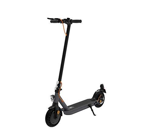 TREKSTOR e.Gear EG3168 E-Scooter mit Straßenzulassung (eKFV), 350 W Motor, 216 Wh Batterie, 18 km Reichweite, 8,5 Zoll Reifen, Stoßgedämpft, Scheibenbremse, nur 14,5kg, 120kg Tragkraft, Klappbar*