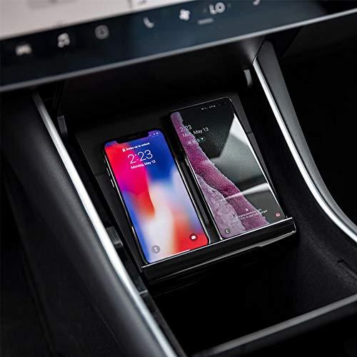 Ladepad für das Tesla Model 3 – Kabellos bis zu zwei Smartphones in der Mittelkonsole laden