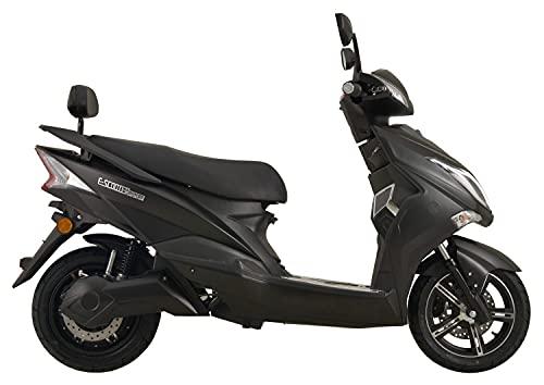 Hawk Li 2.0, 3000 Watt Elektroroller 45 km/h Lithium Akku E Roller E Scooter mit Straßenzulassung Elektro Roller Scooter Testsieger kaufen, Matt Schwarz*