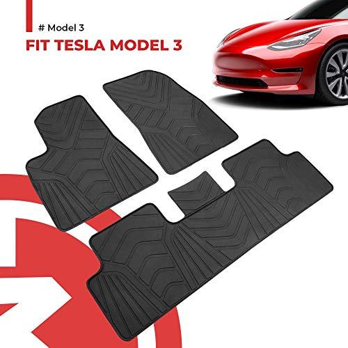 Fußmatten-Set für das Tesla Model 3 von BougeRV