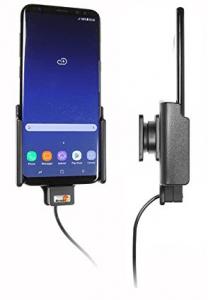 Foto: Aktiver Brodit-Gerätehalter für das Samsung Galaxy S8+ | © Hersteller