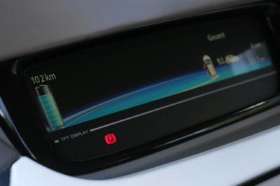 Renault ZOE Zen Elektroauto Display Informationsdisplay Info Reichweite Status Aachen greenspeed Gebrauchtwagen Elektroauto Deutschland NRW kaufen Fahrzeugkauf