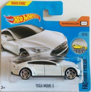 Foto: Spielzeugauto Tesla Model S von Hot Wheels | © Hersteller