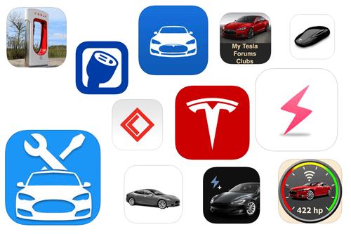 Foto: Die beliebtesten Tesla-Apps für iOS und Android | Montage Greenspeed.de