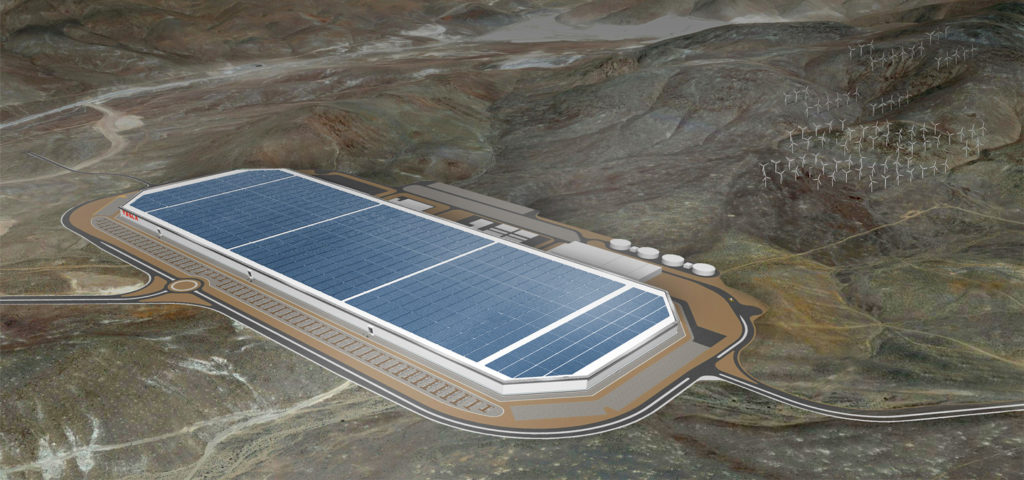 Foto: Tesla Gigafactory | © Tesla Motors
