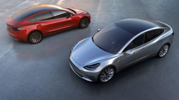 Foto: Erstes Bildmaterial zum Tesla Model 3 | © Tesla Motors
