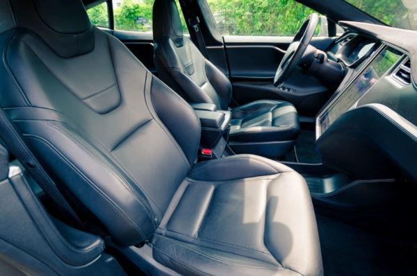 Tesla Model S P85D Fahrersitz Beifahrersitz Next Generation Sitze Ledersitze Leder Ausstattung Greenspeed emobility Aachen Deutschland NRW Euregio Autohändler Gebrauchtwagen kaufen