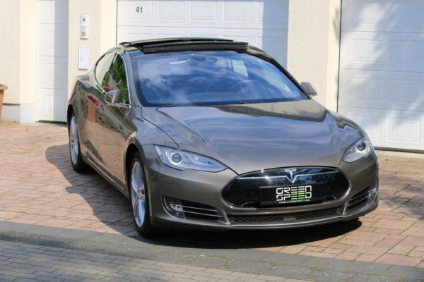 Tesla Model S P85D Titanium dual motors Autopilot Greenspeed emobility Elektroauto Gebrauchtwagen kaufen Deutschland Aachen NRW Euregio