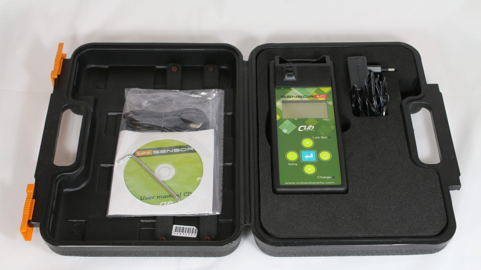CUB Uni Sensor Sensor Aid RDKS TPMS Tesla Programmiergerät 433 MHz 315 MHz Diagnosegerät Reifendruckkontrollsystem Greenspeed Lieferumfang kaufen