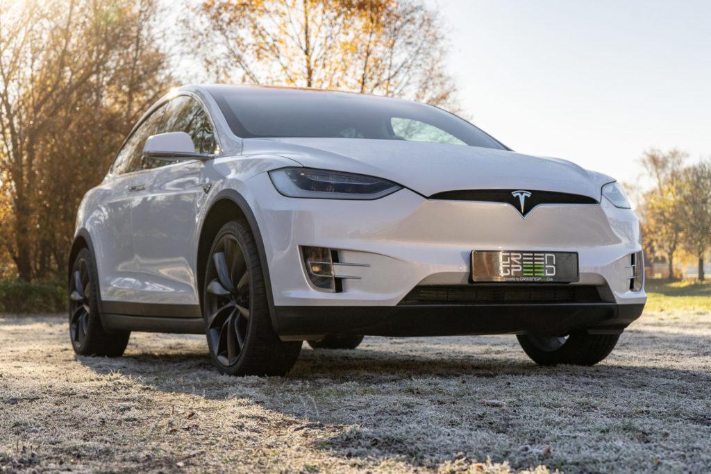 Tesla Model X90D Extras Ausstattung Onxy Felgen multicoat white greenspeed emobility Aachen Deutschland NRW Gebrauchtwagen Gebrauchtfahrzeug kaufen