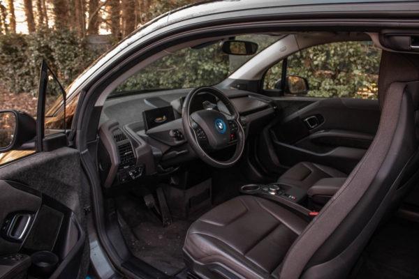 BMW i3 94 Ah Baujahr 2017 2. Generation Sitze Cockpit Fahrersitz Beifahrersitz Gebrauchtwagen gebraucht kaufen Aachen Greenspeed Elektromobilität Kleinwagen