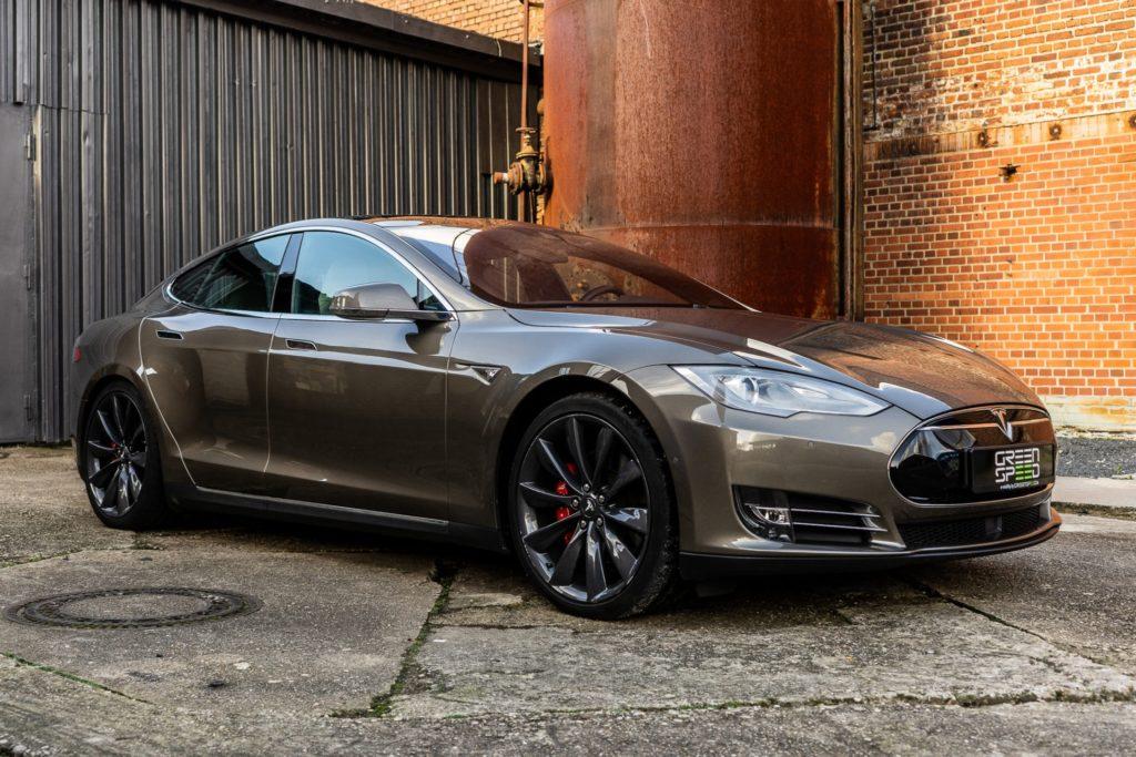 Tesla Model S P90D Titanium Turbine Felgen Autopilot Premium-Innenraum Smart Air Sicherheitspaket Kaltwetter-Paket Allrad U-HiFi Sound Greenspeed Aachen NRW Deutschland Gebraucht kaufen Gebrauchtfahrzeughandel Gebrauchtwagen