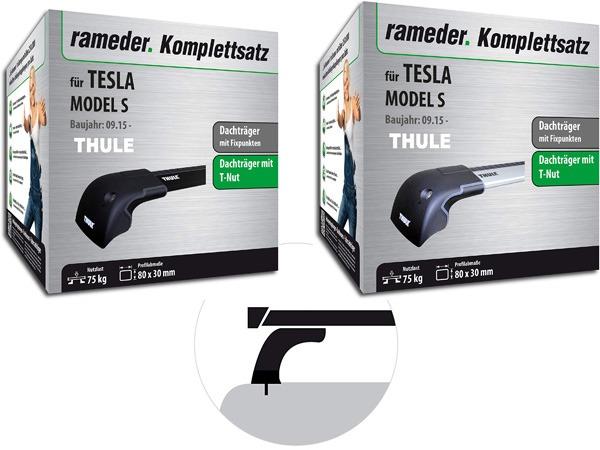 Rameder Dachträger Kit Kommplettsatz für Tesla Model S montieren Montage Nutzlast Greenspeed Aachen emobility Gebrauchtfahrzeuge Deutschland
