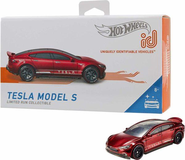 Tesla Model S Hot Wheels Spielzeugauto iD Sammeln Sammlerstück NFC