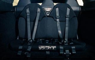Tesla Model S Kindersitze rear facing seats 7 Sitze gebraucht kaufen Aachen Greenspeed Elektromobilität