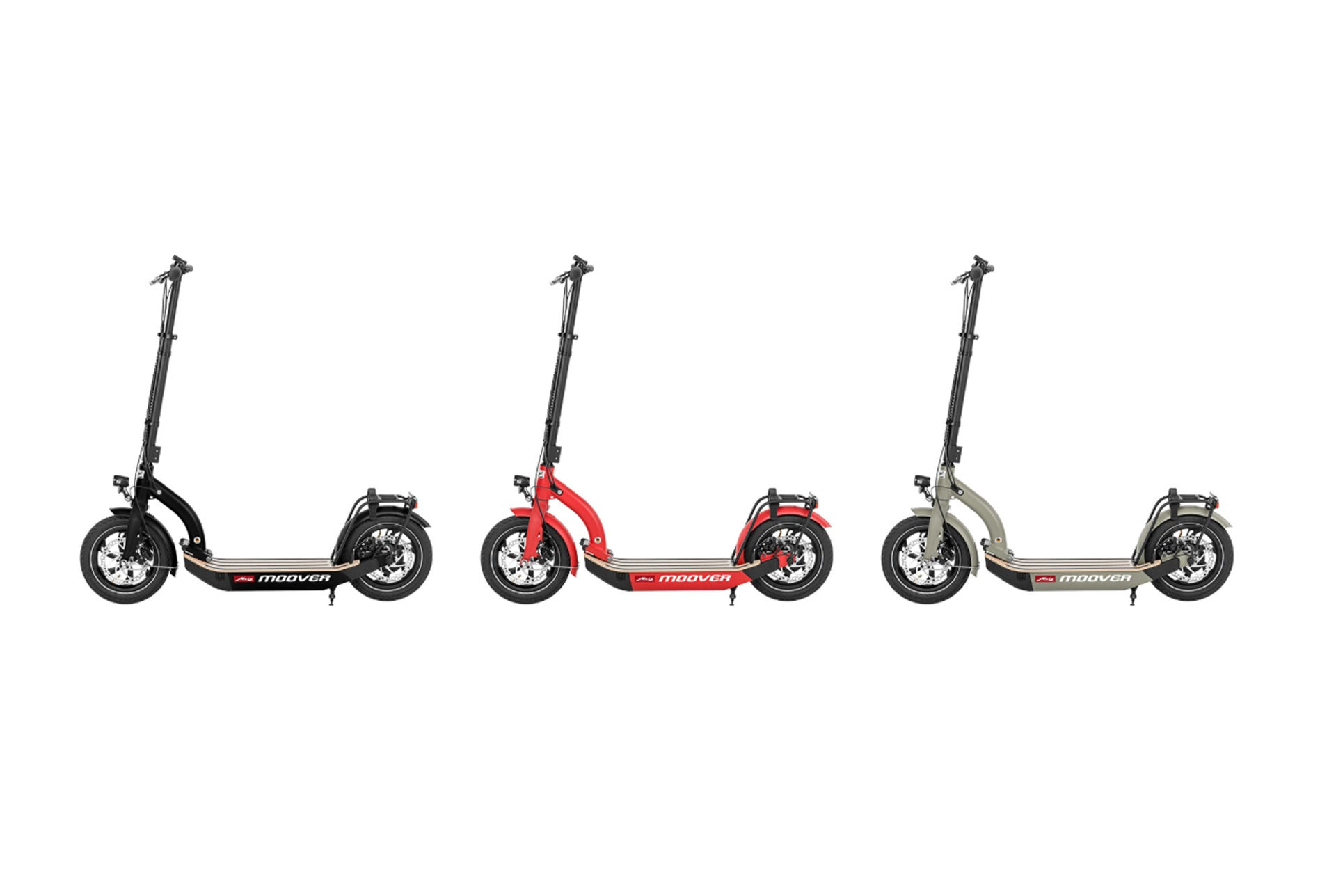 E-Scooter Metz Moover Schwarz Rot Elektromobilität Greenspeed Aachen
