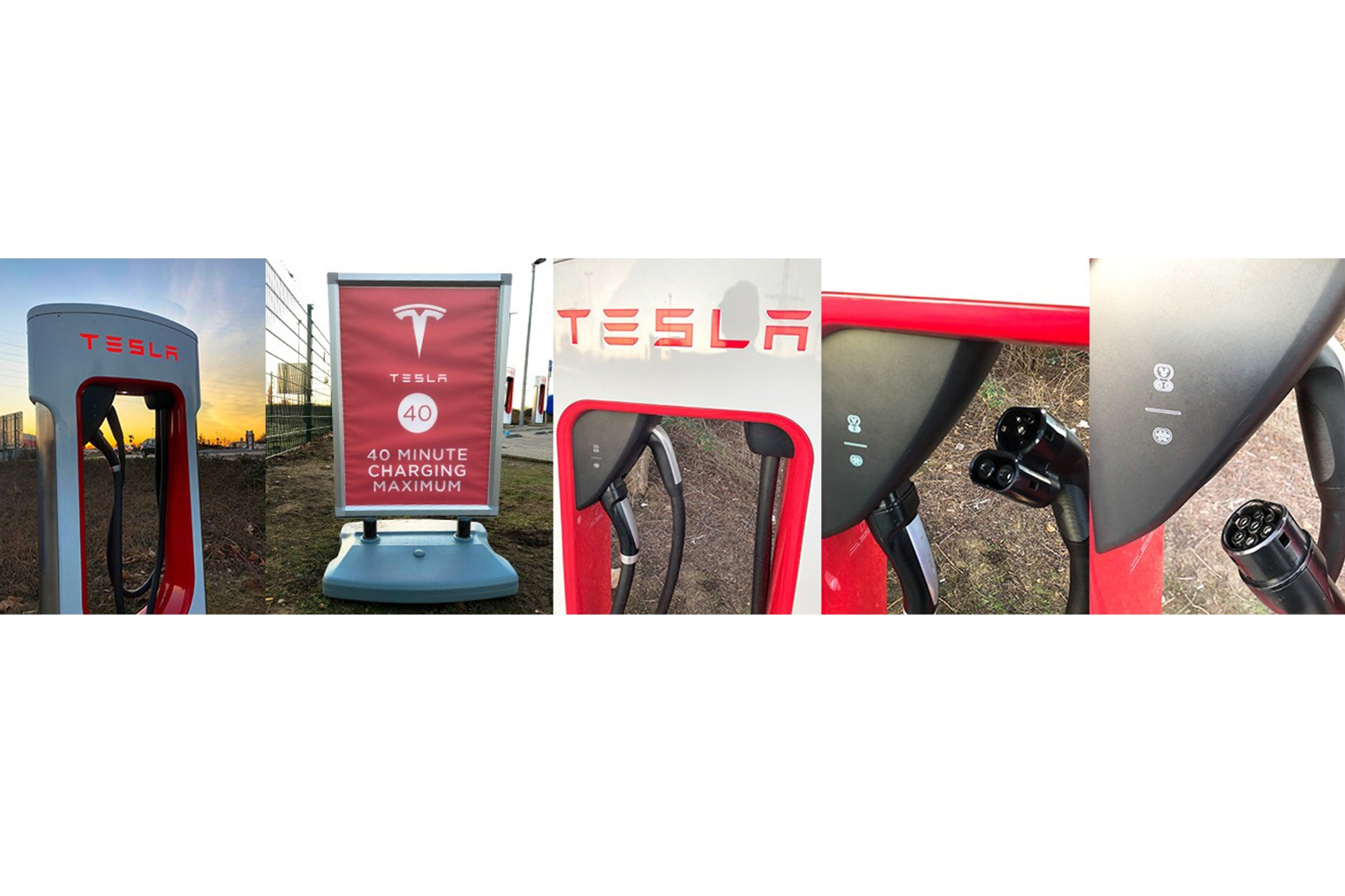 Tesla Supercharger SuC Erftstadt Laden Combo 2 Type 2 Type 2 CSS Combined Charging System Laderecht 40 Minute Charging Maximum Ladesäule