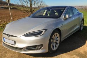Foto: Dieses Tesla Model S90D wird im Kundenauftrag auf Greenspeed.de angeboten. | © Privat