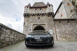 Foto: Tesla Model S85, mit Autopilot ausgestattet.  © Greenspeed.de